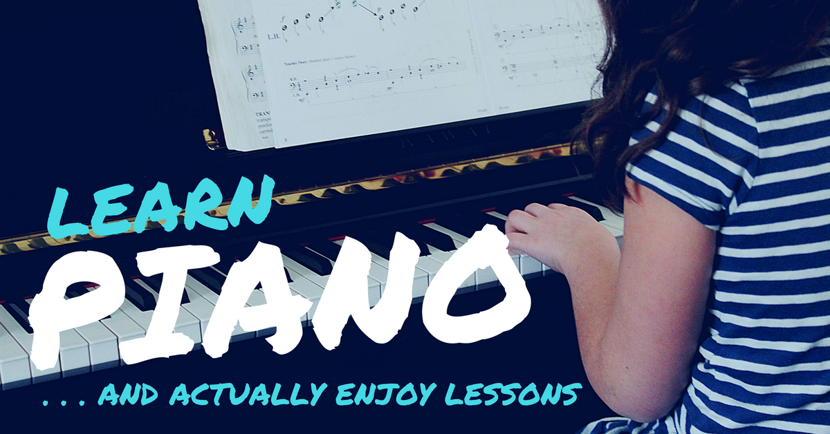 Learn Piano And Actually Enjoy Lessons
