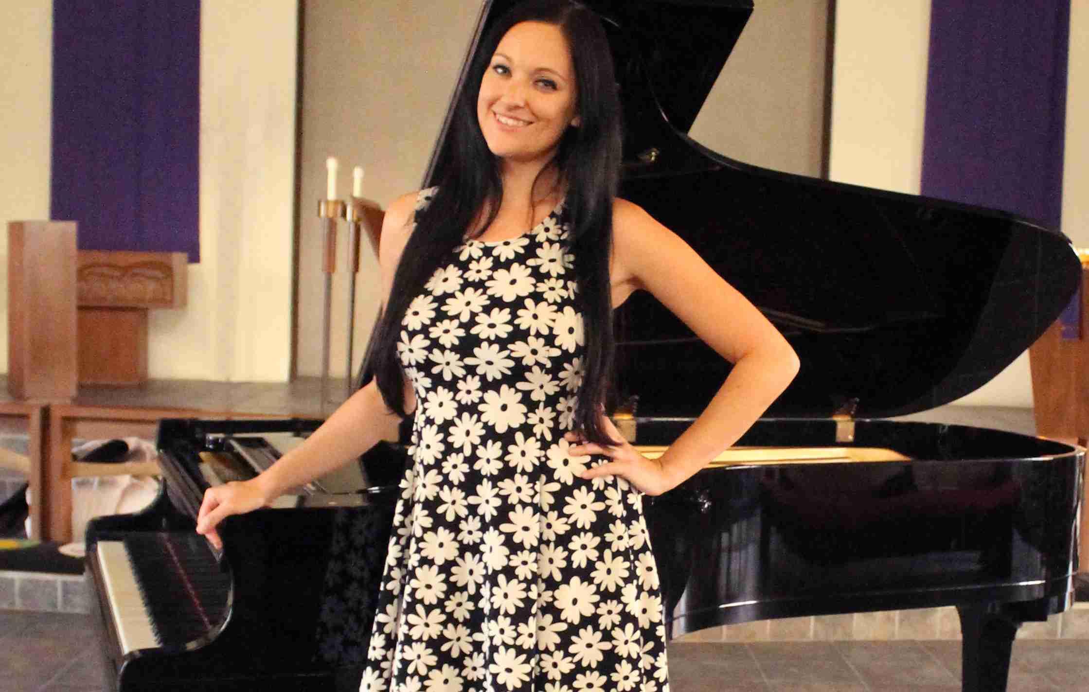 PIano teacher Christina Lopriore