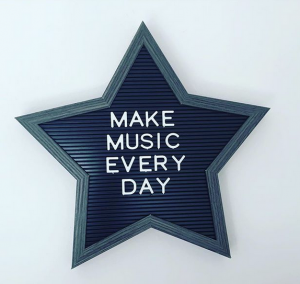 make music every day